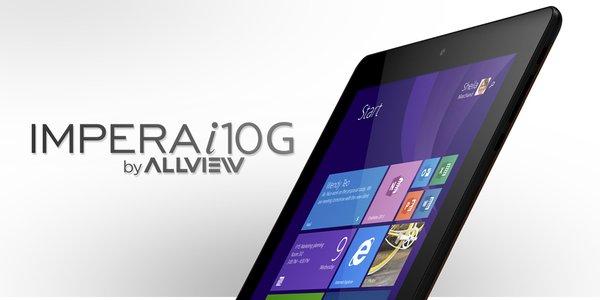 Tabletowo.pl Allview prezentuje 9,7-calowy model Impera i10G z Windowsem 8.1 Tablety Windows