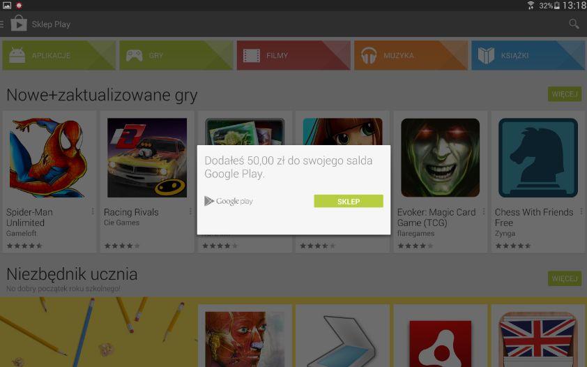 Krotki Poradnik Jak Doladowac Konto Google Play Za Pomoca Karty