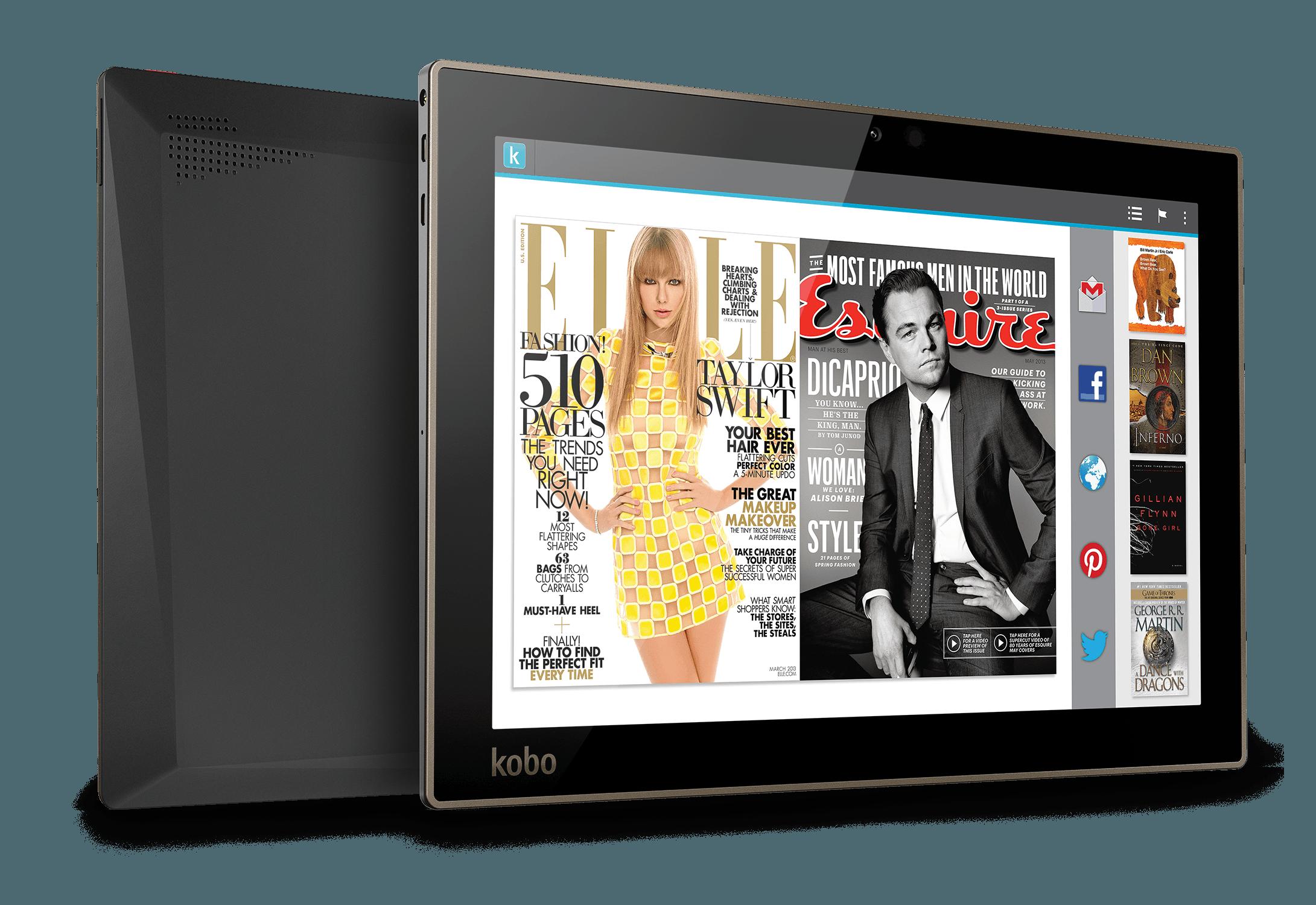 """Tabletowo.pl Promocja: Tablet Kobo Arc 10HD z ekranem 10,1"""" 2560 x 1600 za 755,90 złotych Android Promocje Tablety"""