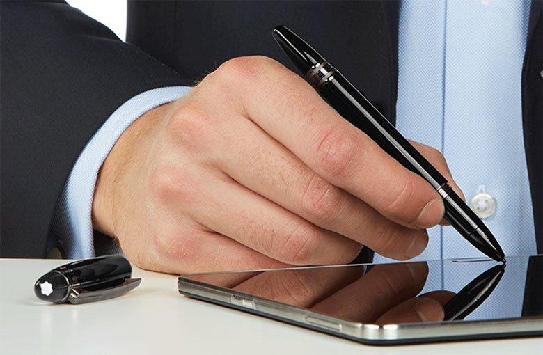Tabletowo.pl IFA 2014: MontBlanc Pix i e-StarWalker - eksluzywne stylusy dla Samsunga Galaxy Note 4 Akcesoria Nowości