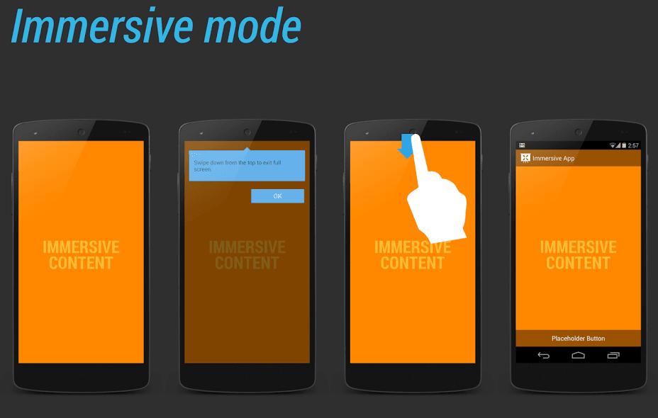 Tabletowo.pl Immersive Mode na Androidzie 4.4 KitKat – co to jest i jak go włączyć w każdej aplikacji (poradnik) Android Aplikacje Porady Smartfony Tablety