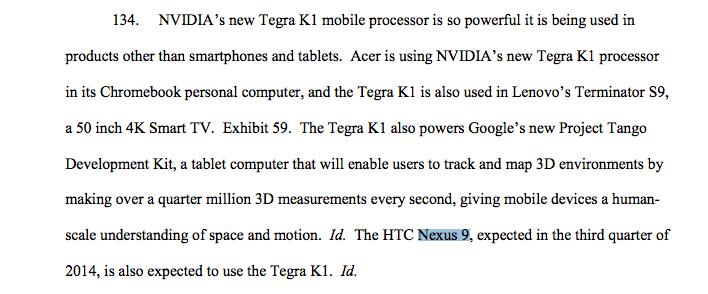 """Tabletowo.pl Nvidia """"przypadkiem"""" potwierdziła Nexusa 9 Google NVIDIA Plotki / Przecieki Tablety"""