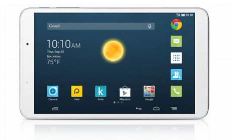 Tabletowo.pl IFA 2014: Alcatel OneTouch Hero 8 to aluminiowy tablet z 8-calowym ekranem Alcatel Android Nowości Tablety