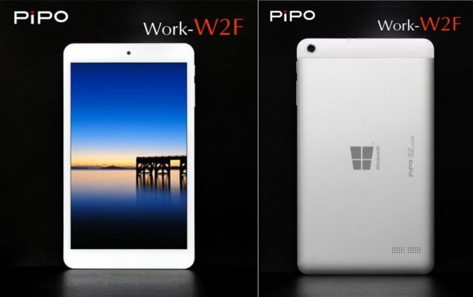 Tabletowo.pl Pipo Work W2F - 8-calowy tablet pracujący pod kontrolą Windows 8.1 za 112$ Chińskie Tablety Windows