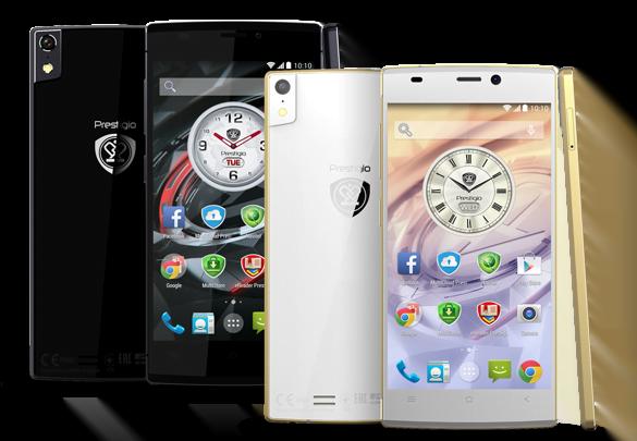 """Tabletowo.pl Prestigio Grace - elegancka nowość z szansą na sukces. Obudowa 5,5 mm, 5"""" Super AMOLED Full HD i KitKat w cenie 1249 złotych Android Nowości Smartfony"""