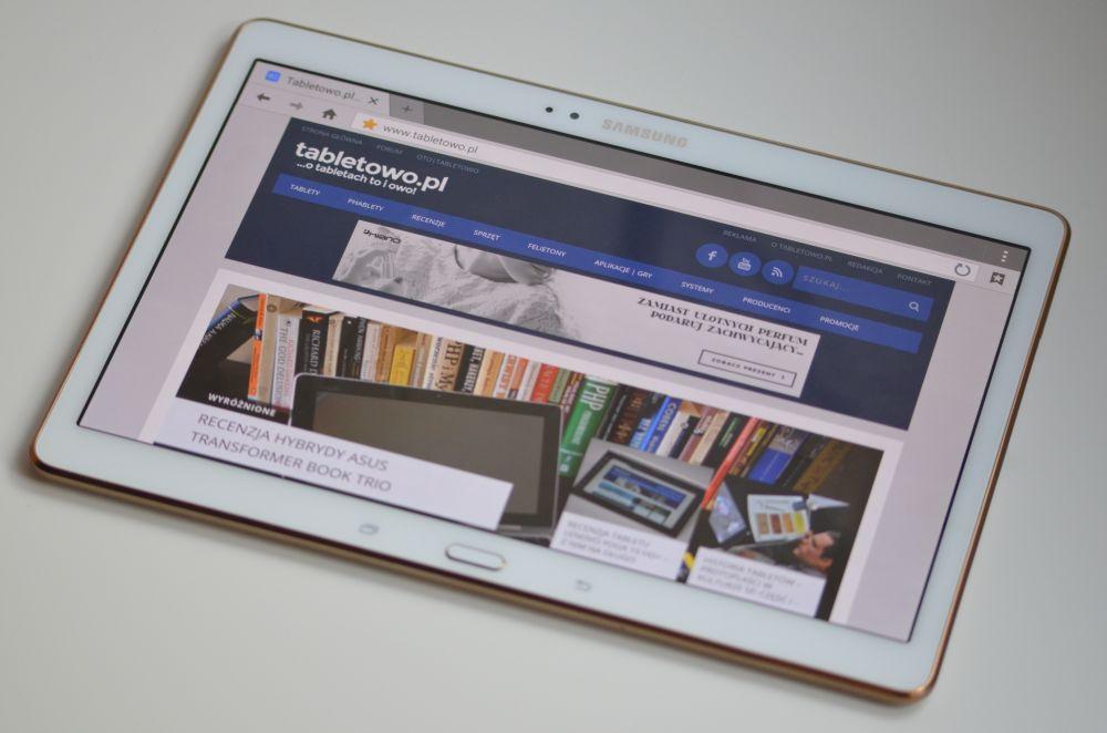 Tabletowo.pl Samsung Galaxy Tab S 10.5 LTE otrzymał w Polsce aktualizację do Androida 6.0.1 Marshmallow Aktualizacje Android Samsung Tablety