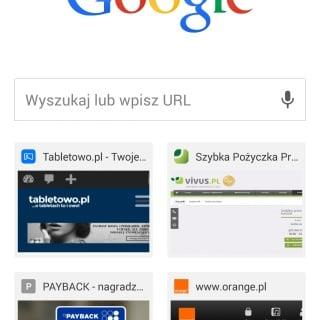 Tabletowo.pl Przeglądarka Google Chrome doczekała się aktualizacji - jest Material Design! Aktualizacje Android Aplikacje Google