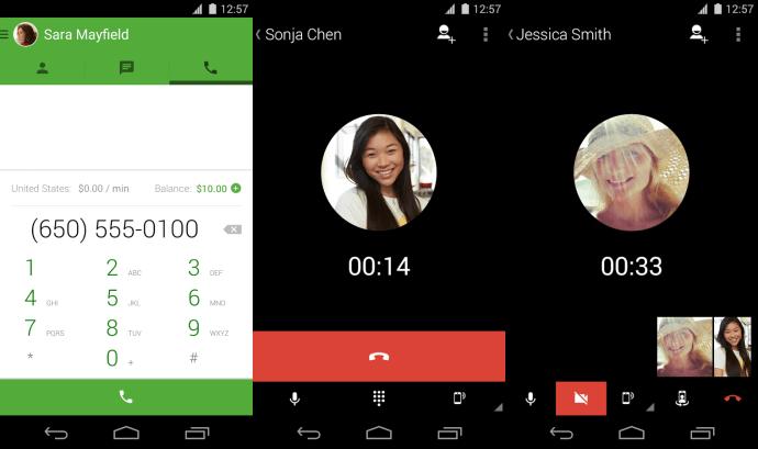 Tabletowo.pl Google Hangouts z Material Design i Telefon Hangouts Aktualizacje Android Aplikacje Google Nowości
