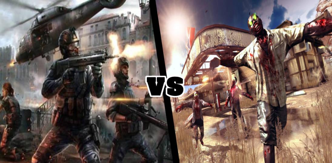 Tabletowo.pl Pojedynek Gier: Modern Combat 5 vs Dead Trigger 2 Android Gry iOS Porównania Windows