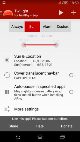 Tabletowo.pl Jak ściemnić ekran tabletu z Androidem poza skalę systemową (krótki poradnik) Android Aplikacje Nowości Porady