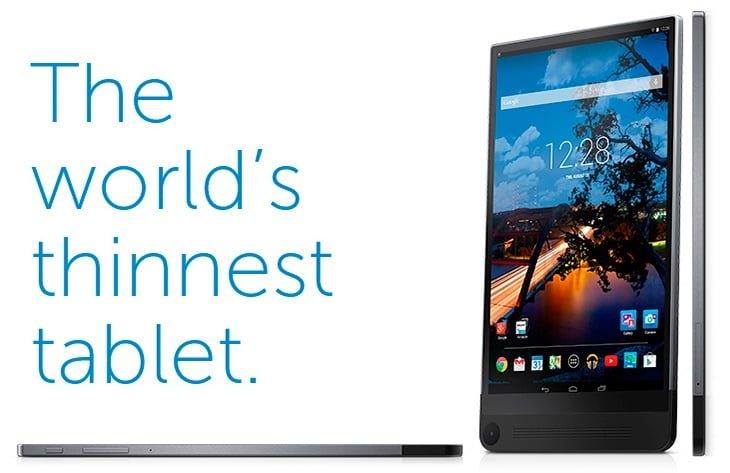 Tabletowo.pl Najcieńszy tablet na świecie - co poszło nie tak? Android Dell Opinie