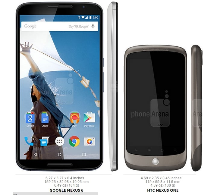 And---finally---here-we-have-the-tiny-3.7-inch-Nexus-One.-We-can-confidently-say-that-the-Nexus-line-has-grown-both-literally-and-figuratively-since-the-first-model