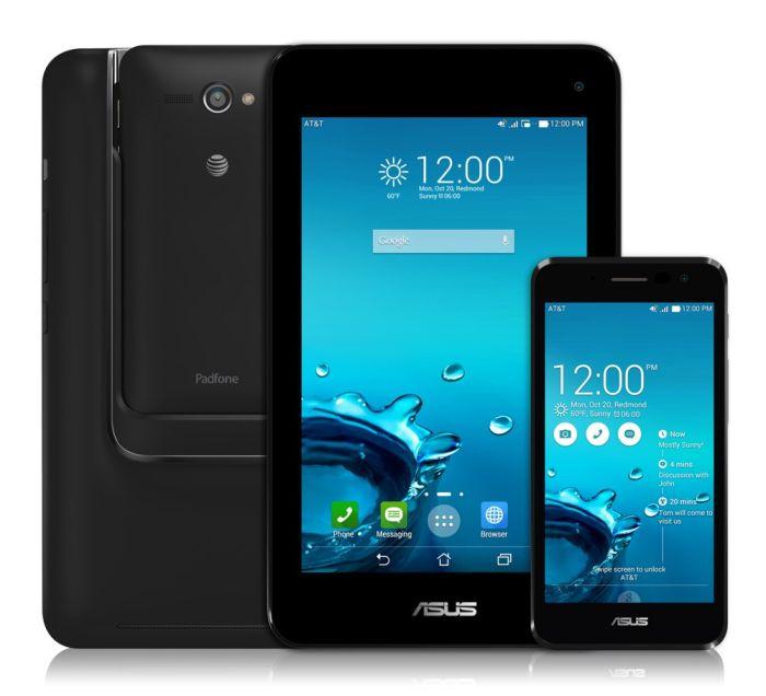 Tabletowo.pl Debiutuje Asus Padfone X mini z 4,5-calowym smartfonem dokowanym w 7-calowy tablet Android Asus Hybrydy