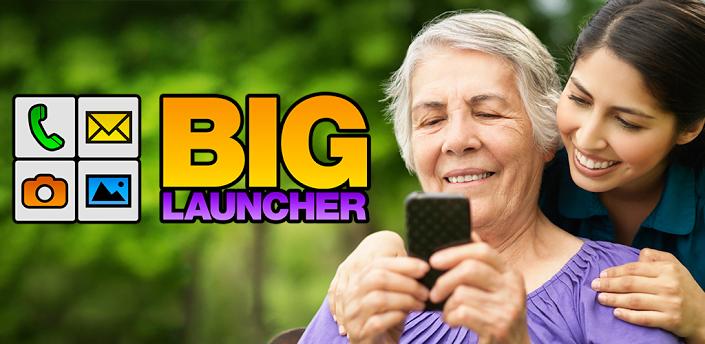 BIG Launcher dedykowany seniorom 75% taniej w Google Play
