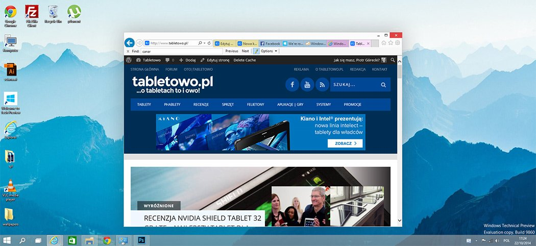 Tabletowo.pl Nowa kompilacja Windows 10 i zmiana sposobu testowania systemów operacyjnych Aktualizacje Microsoft Opinie Windows