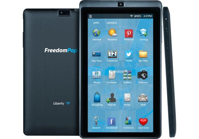 Tabletowo.pl FreedomPop Liberty - tablet za 89 dolarów Android Ciekawostki Tablety