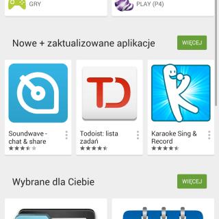 Google Sklep Play 5.0 - przeprojektowany w myśl Material Design 22