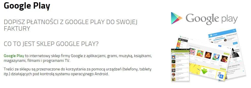 Tabletowo.pl Od teraz płatności z Google Play mogą być doliczane do rachunku również w Plusie Android Aplikacje Ciekawostki
