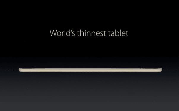 Tabletowo.pl Czy iPad Air 2 to najcieńszy tablet? Nie, to miano należy do Della Venue 8 7000! Apple Ciekawostki Dell Tablety