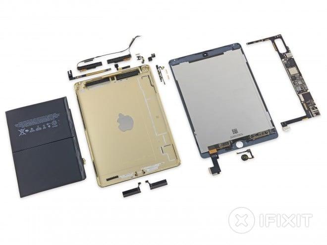 Tabletowo.pl iPad Air 2 rozłożony na części! Apple Ciekawostki iOS Tablety