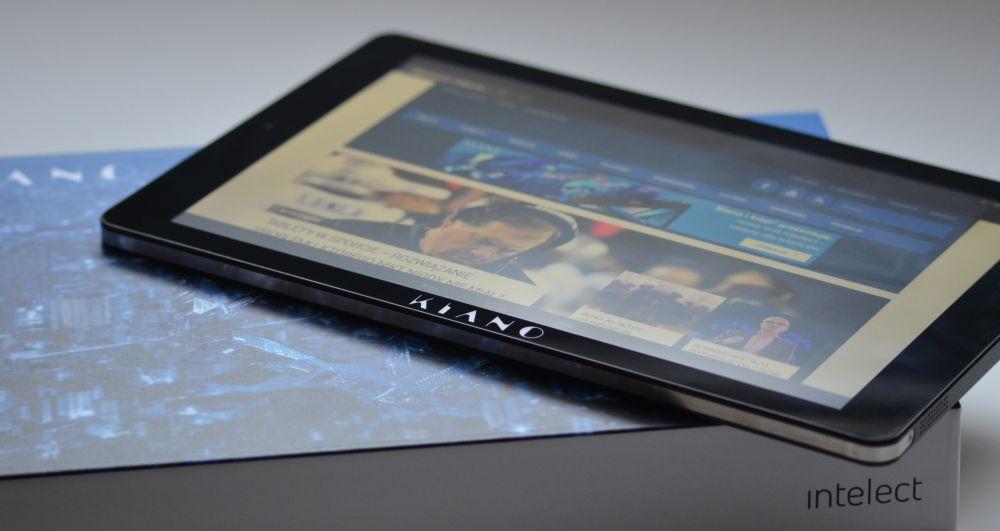 Recenzja tabletu Kiano Intelect 10 3G. Czego możemy się spodziewać po świetnie wyglądającym sprzęcie za 799 złotych?