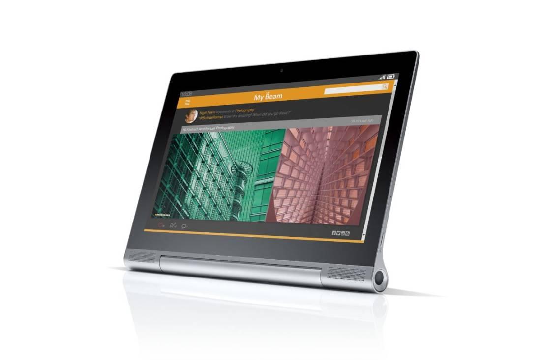 Tabletowo.pl Lenovo wnosi powiew świeżości w swoje produkty prezentując Yoga Tablet 2 Pro z pikoprojektorem i 13,3-calowym wyświetlaczem Android Lenovo Nowości Tablety Windows