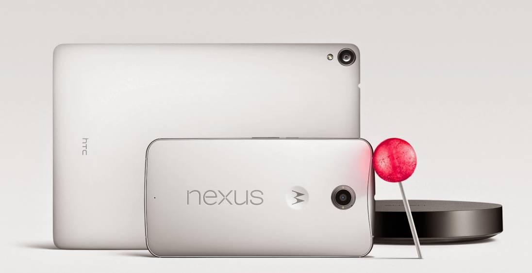 Tabletowo.pl Nexus 6 pierwszym tabletofonem z Androidem 5.0, czyli... Lollipop. Tak, jednak ma 6 cali (aktualizacja: ceny i parametry) Nowości