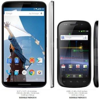 Tabletowo.pl Jak zmieniały się rozmiary serii Nexus i czy 5,96-calowy ekran to dobry wybór? Android Ciekawostki Google Motorola Smartfony