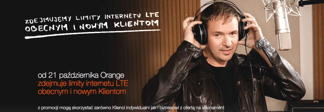 Tabletowo.pl Orange w znacznej części zdejmuje limity z LTE Ciekawostki Technologie