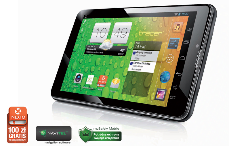 "Tabletowo.pl Promocja: Tablet Tracer OVO 3G 7"" za 199 złotych Promocje Tablety"