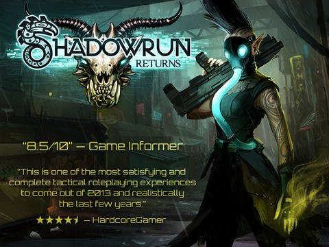 Tabletowo.pl Harebrained Schemes obniża ceny Shadowrun Returns Android Gry iOS Promocje