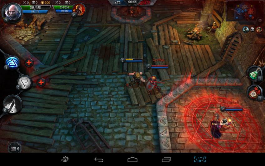 Tabletowo.pl Przed premierą: The Witcher Battle Arena. Sprawdzamy mobilnego Wiedźmina Android Gry iOS Zapowiedzi