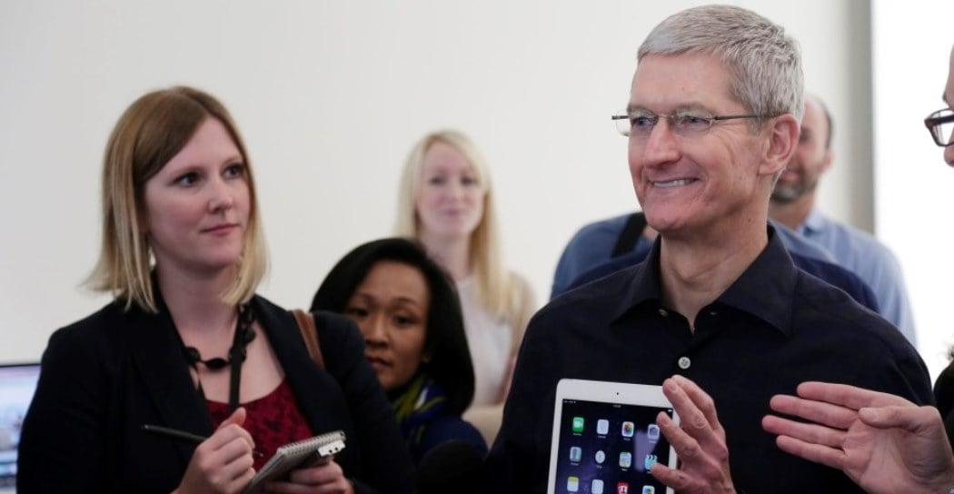 Tabletowo.pl Tim Cook o przyszłości iPadów Apple Opinie