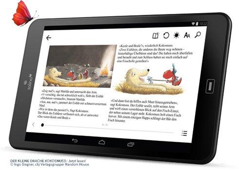 Tabletowo.pl Tolino Tab 8 - ciekawy tablet stworzony przez firmę zajmującą się produkcją czytników ebooków Android Nowości Tablety