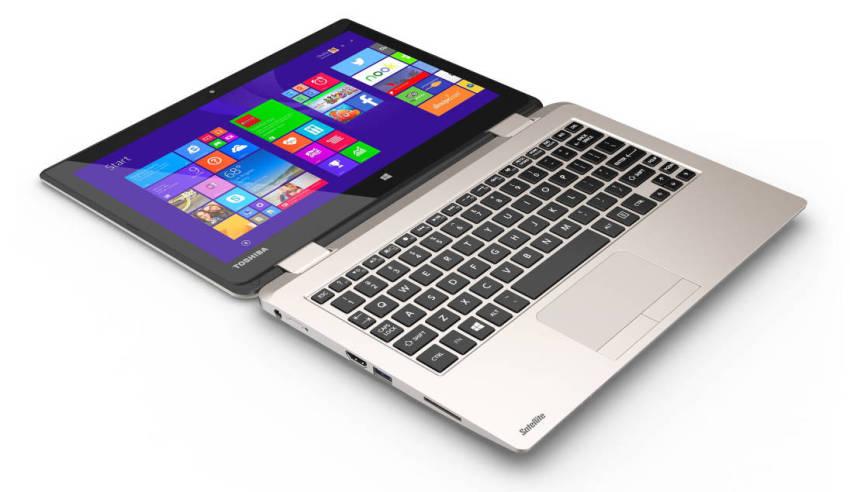 Tabletowo.pl Toshiba zapowiedziała Satellite Radius 11 - tablet i laptop w jednym Hybrydy Sprzęt Toshiba Windows