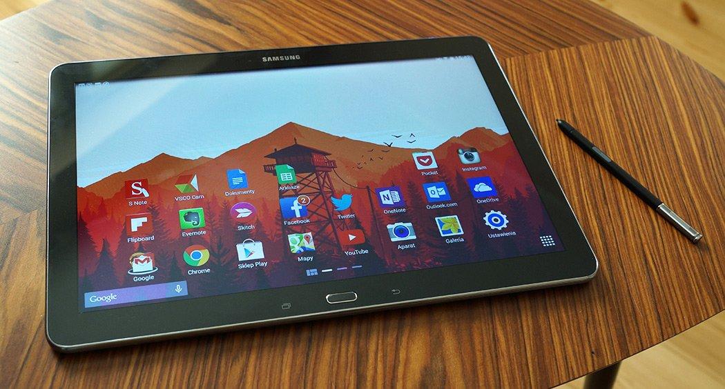 Rozpakowywanie tabletu Samsung Galaxy Note Pro 12.2 33