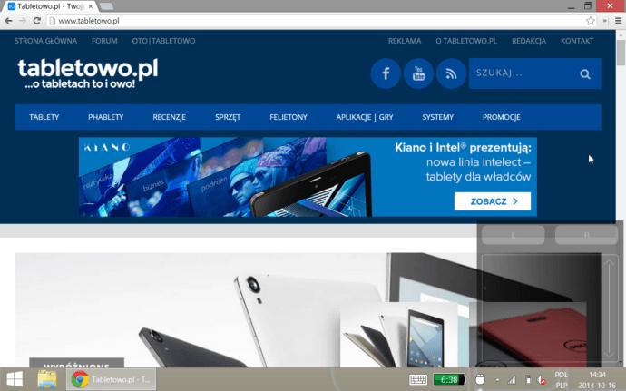 Tabletowo.pl TouchMousePointer - wirtualny touchpad na tablecie z Windows 8.1 Aplikacje Ciekawostki Porady Windows