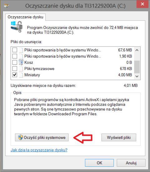 Tabletowo.pl Krótki poradnik: Zwolnienie pamięci poprzez usunięcie pozostałości po aktualizacjach na tabletach z Windows 8.1 Ciekawostki Porady Windows