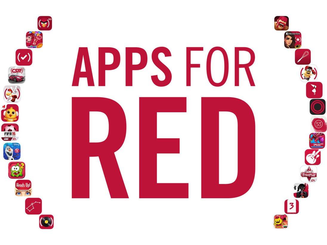 """Tabletowo.pl """"Czerwone"""" aplikacje w App Store wspierają walkę z AIDS Aplikacje Apple Gry iOS"""