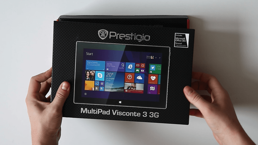 Recenzja tabletu Prestigio Multipad Visconte 3 3G