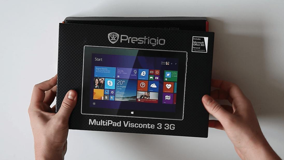 Recenzja tabletu Prestigio Multipad Visconte 3 3G 16