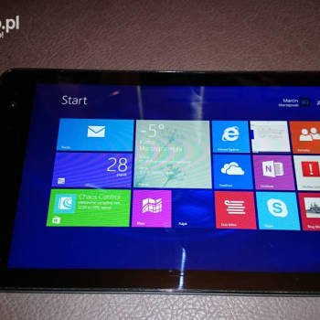 Dell Venue 8 Pro - ekran