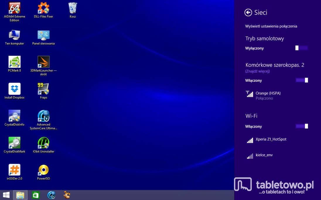 Dell Venue 8 Pro - Modem 3G