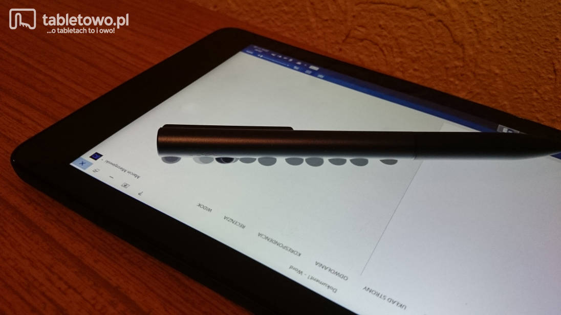 Dell Venue 8 Pro - multitouch ekranu