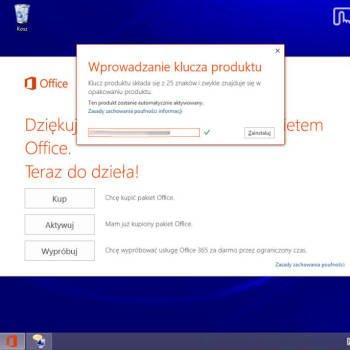 Dell Venue 8 Pro - pakiet biurowy office 2013