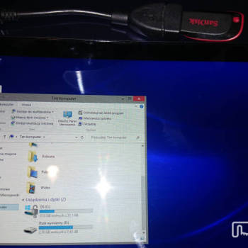 Dell Venue 8 Pro - pamięć zewnętrzna