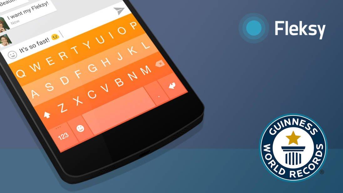 Tabletowo.pl Na Fleksy pobito rekord świata w pisaniu na klawiaturze wirtualnej Android Aplikacje Ciekawostki iOS