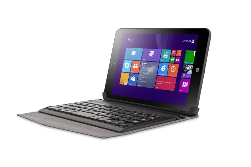 GOCLEVER_INSIGNIA 800 WIN_with keyboard