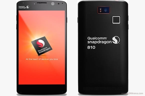 Qualcomm phablet Snapdragon 810