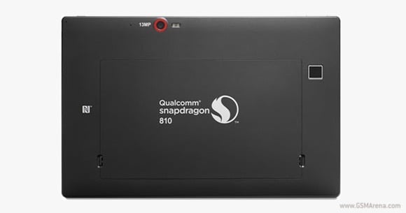 Qualcomm tablet Snapdragon 810